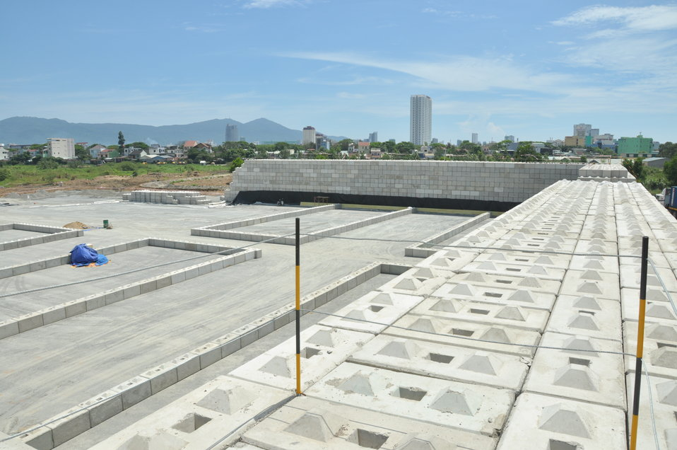 Site construction at the Environmental Remediation of Dioxin Contamination at Danang Airport
