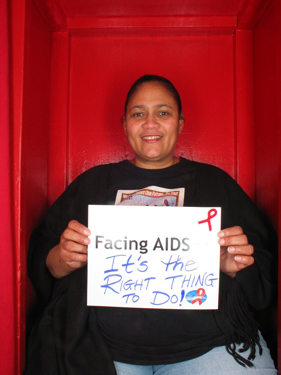 Facing AIDS It's the right thing to do!