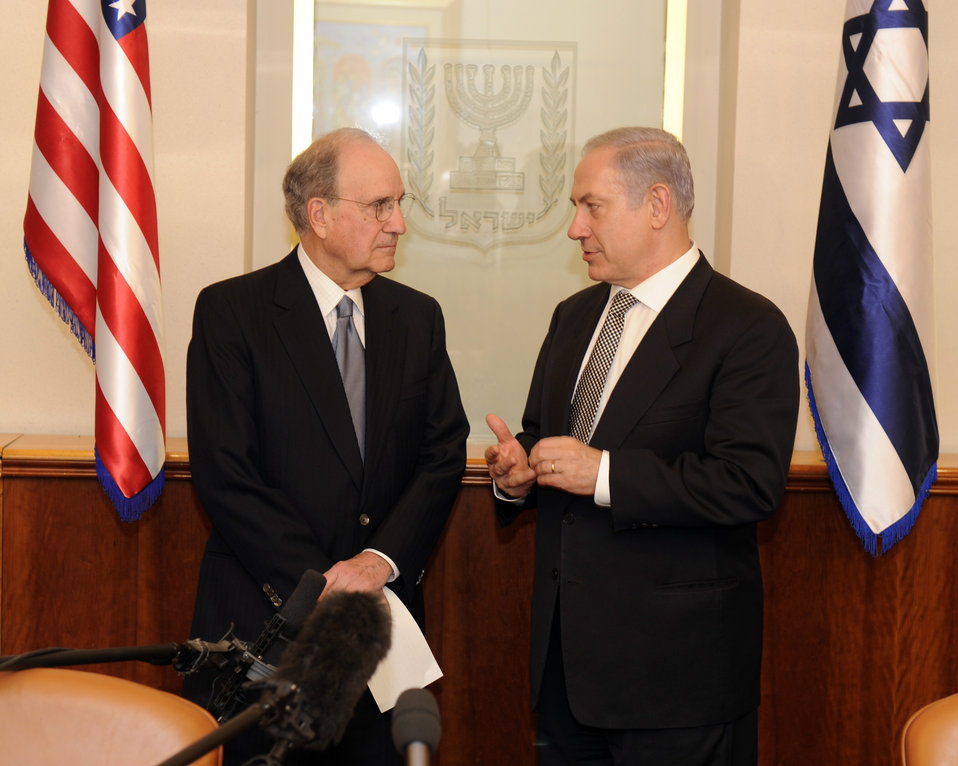 Special Envoy Mitchell Meets With Israeil Prime Minister Netanyahu