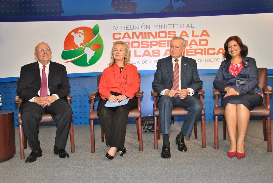 Secretary Clinton Participates in the Pathways Ministerial Opening