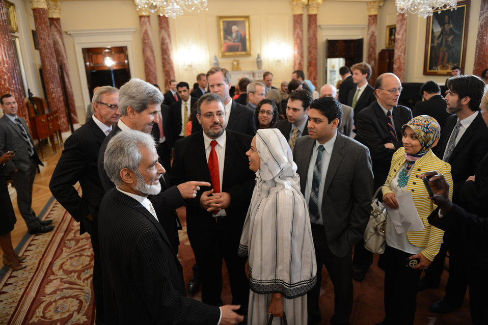 Secretary Kerry Engages With Faith-Based Leaders