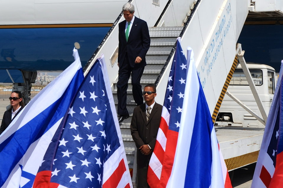 Secretary Kerry Arrives in Israel for Meeting with Prime Minister Netanyahu
