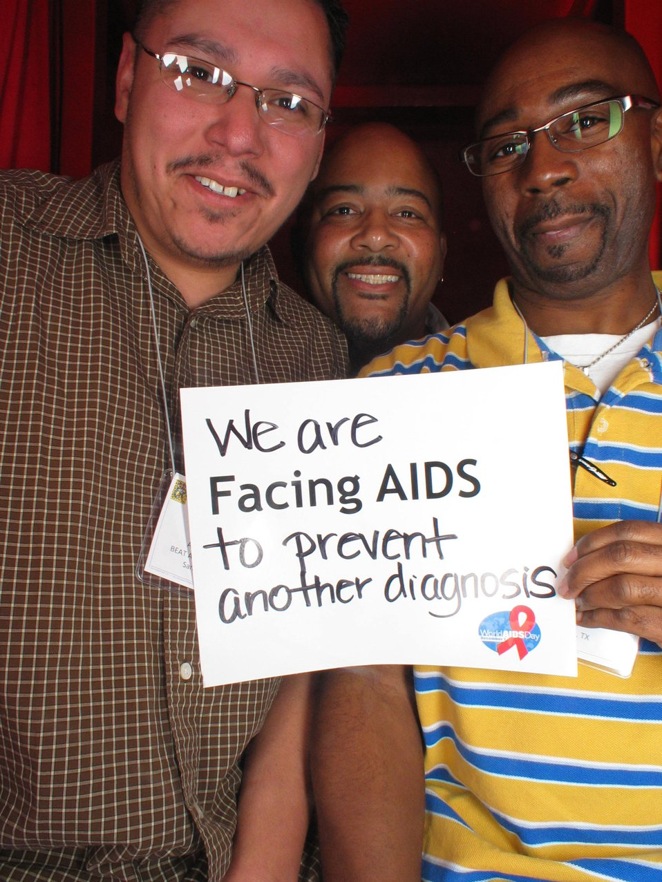 We are Facing AIDS to prevent another diagnosis
