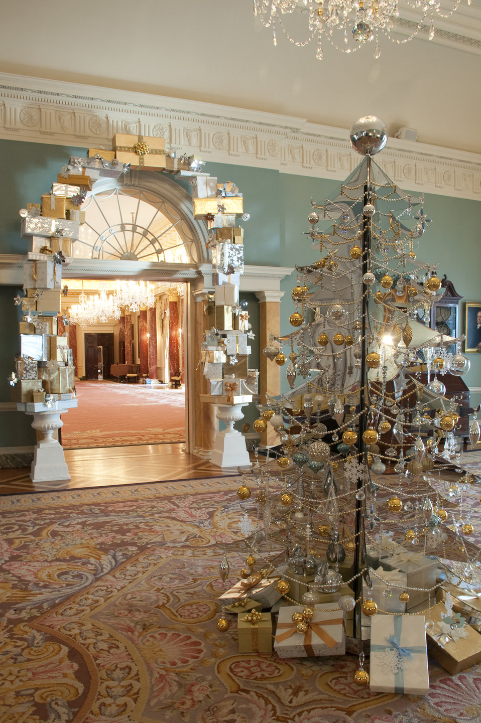 The U.S. Department of State Partners With Time Inc. and InStyle To Decorate the Thomas Jefferson State Reception Room