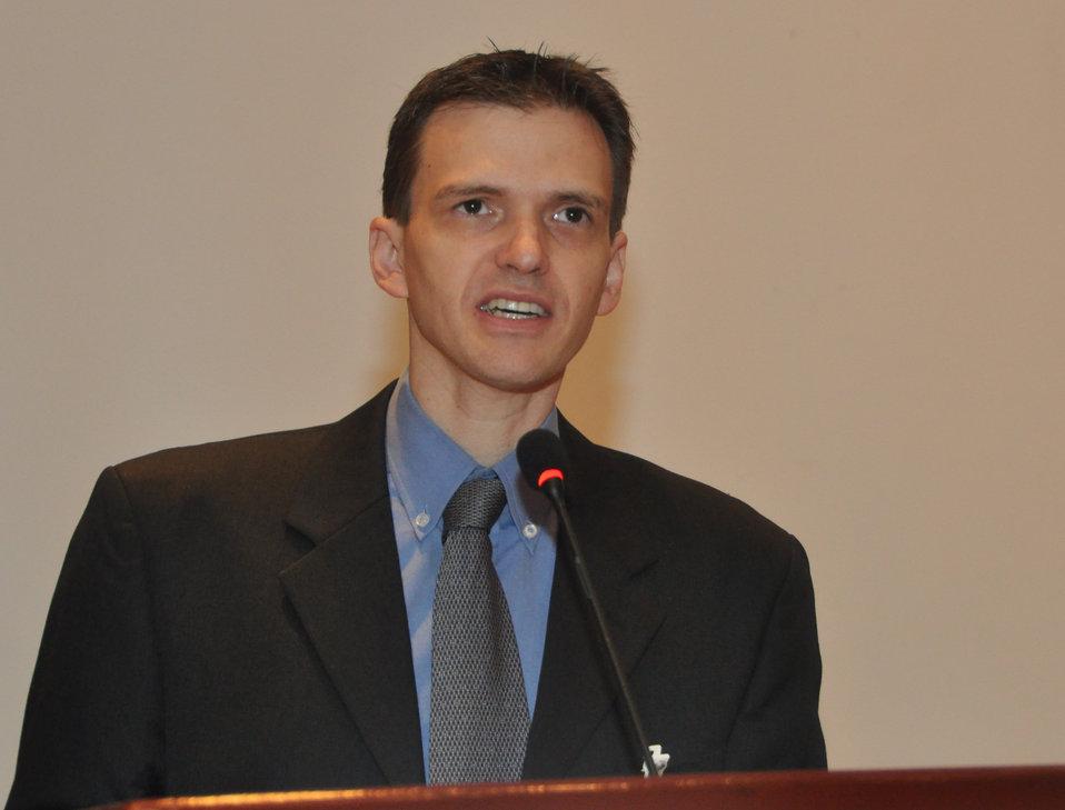 Patrick Smith, USAID/Vietnam Climate Change Advisor