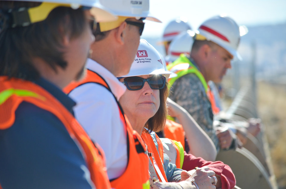 Secretary Darcy visits Folsom Dam Joint Federal Project
