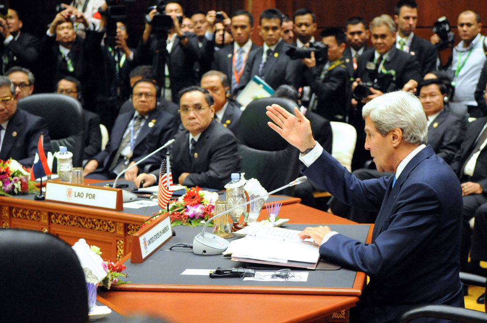 Secretary Kerry Addresses the U.S.-ASEAN Summit