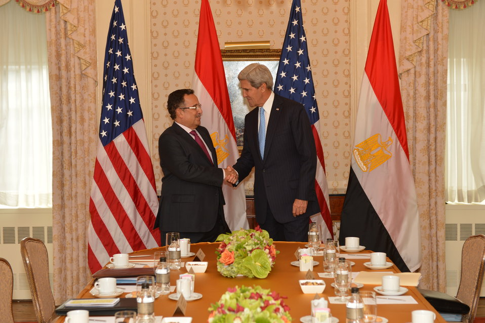Secretary Kerry Meets With Egyptian Foreign Minister Fahmy