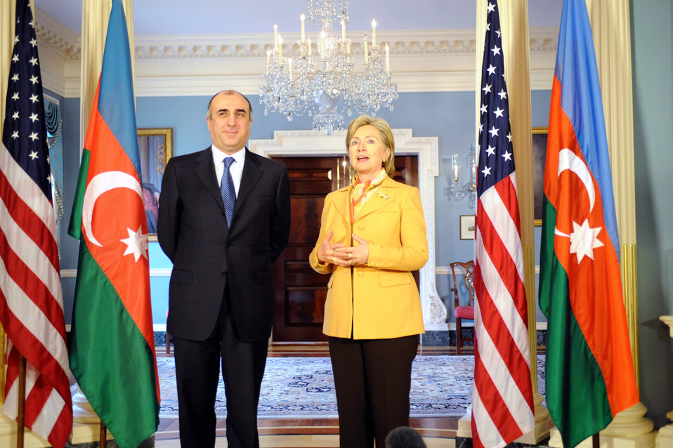 Secretary Clinton Meets With Foreign Minister of Azerbaijan