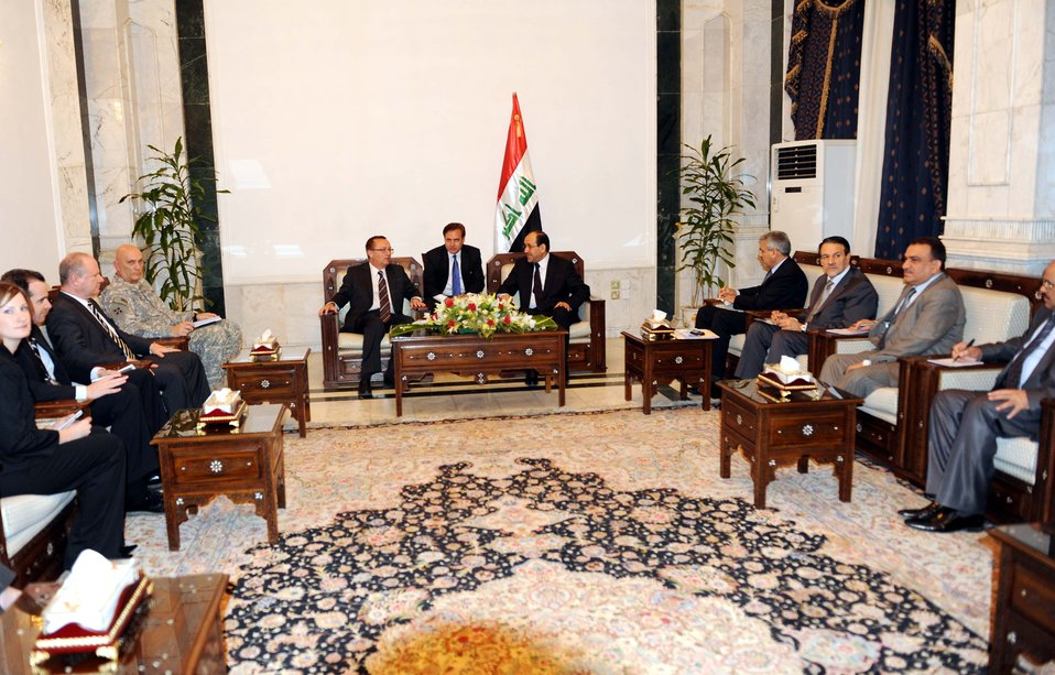 Assistant Secretary for Near Eastern Affairs Jeffrey Feltman Meets with Iraqi Prime Minister Noori Al Maliki