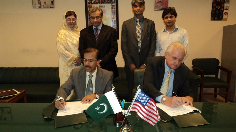 MoU between GoS and USAID
