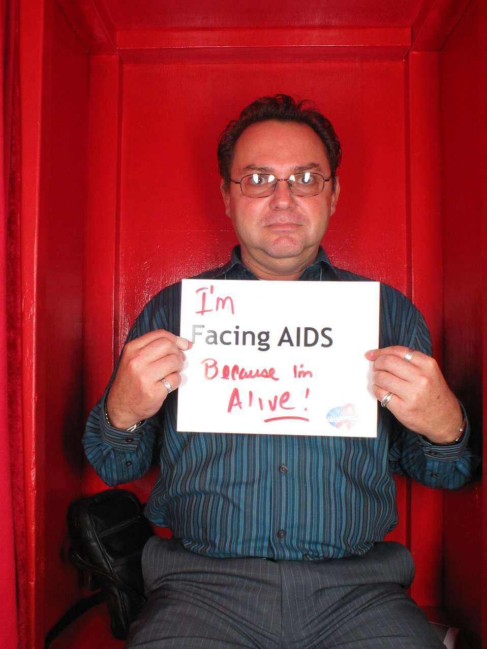 I'm Facing AIDS because I'm alive.