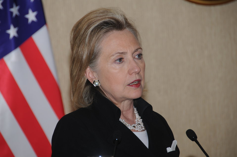 Secretary Clinton Responds to Questions at Press Availability