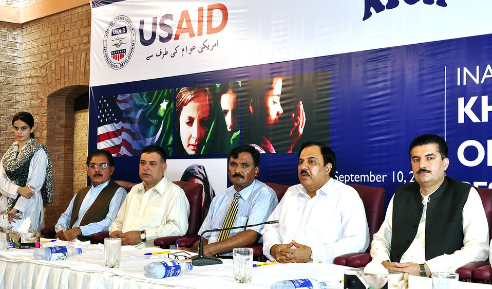 'Inauguration Ceremony of the U.S.-supported Khyber Institute of Child Health' Peshawar