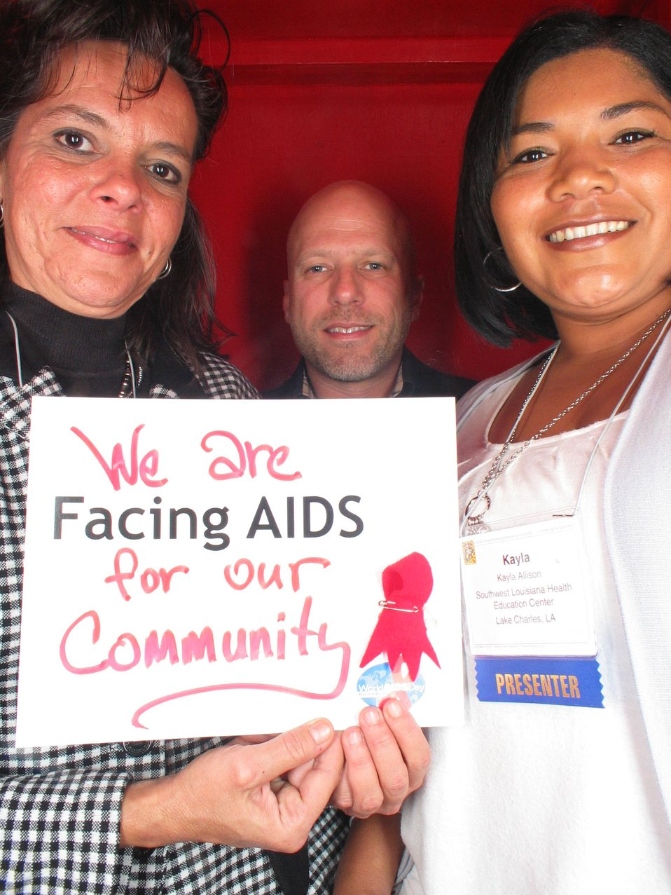 We are Facing AIDS for our community