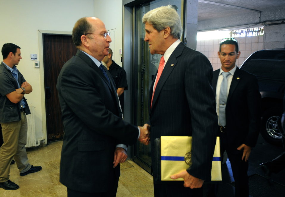 Secretary Kerry is Welcomed by Israeli Defense Minister Yaalon