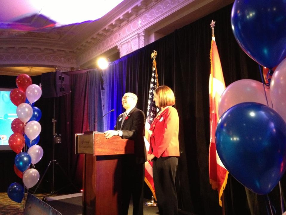 Ambassador Jacobson Speaks at Embassy Ottawa's 2012 Election Night Event