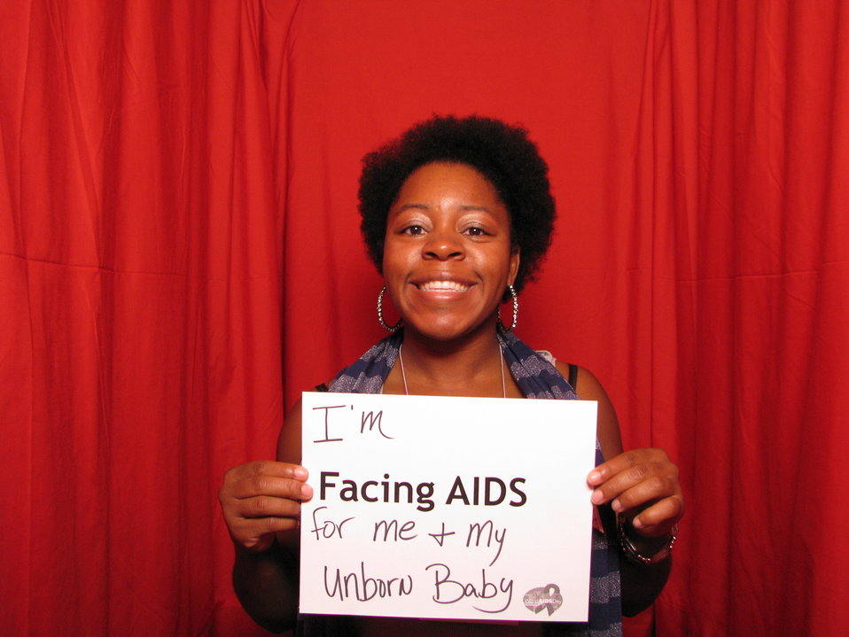 I'm FACING AIDS for me and my unborn baby.
