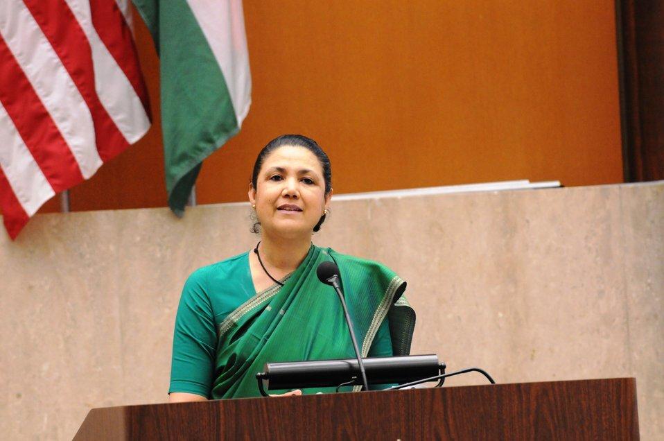Indian Ambassador to the U.S. Shankar Delivers the Closing Remarks