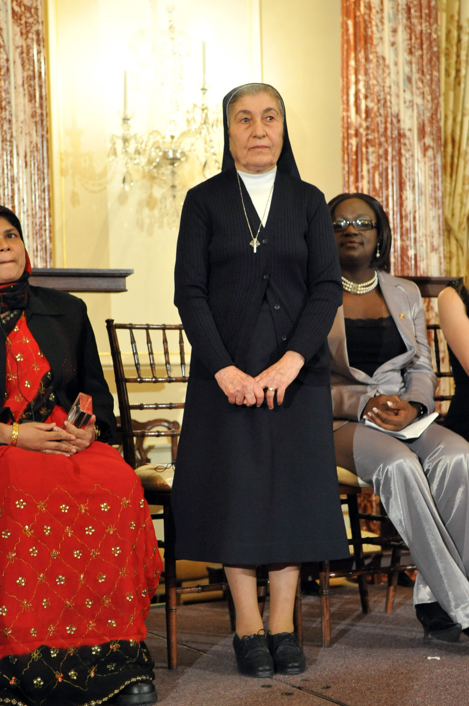 Sister Marie Claude Naddaf of Syria Stands