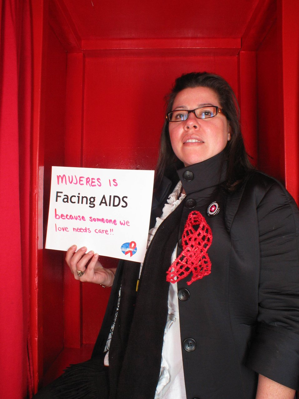 Facing AIDS because someone we love needs care!!!