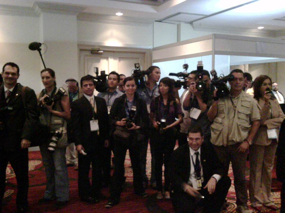 Behind the Scenes: Press at Pathways to Prosperity Conference
