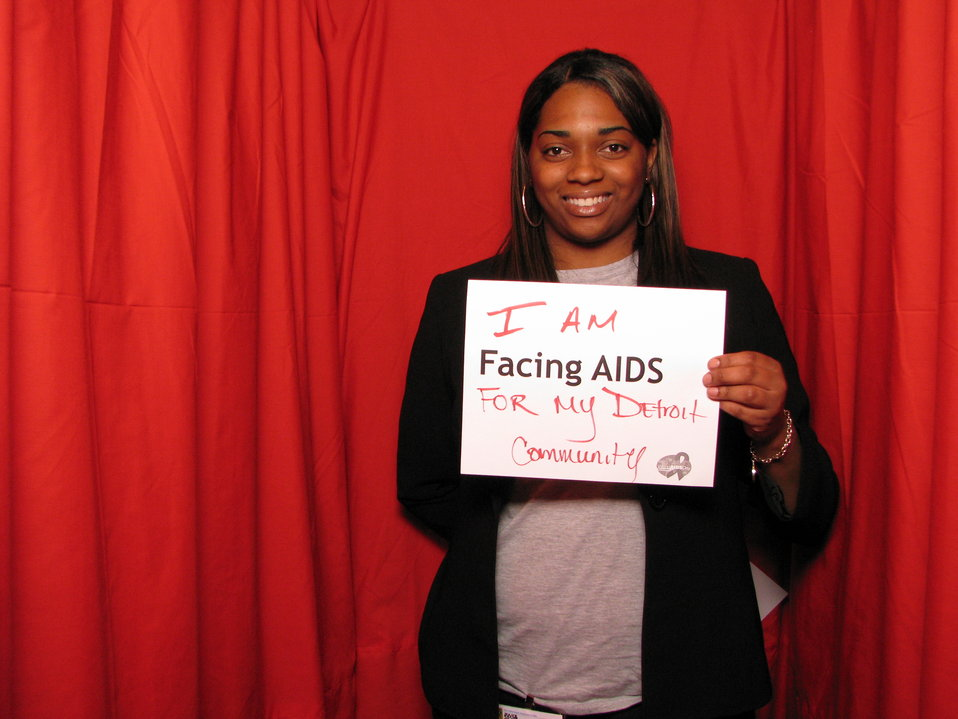 I AM FACING AIDS for my Detroit community!