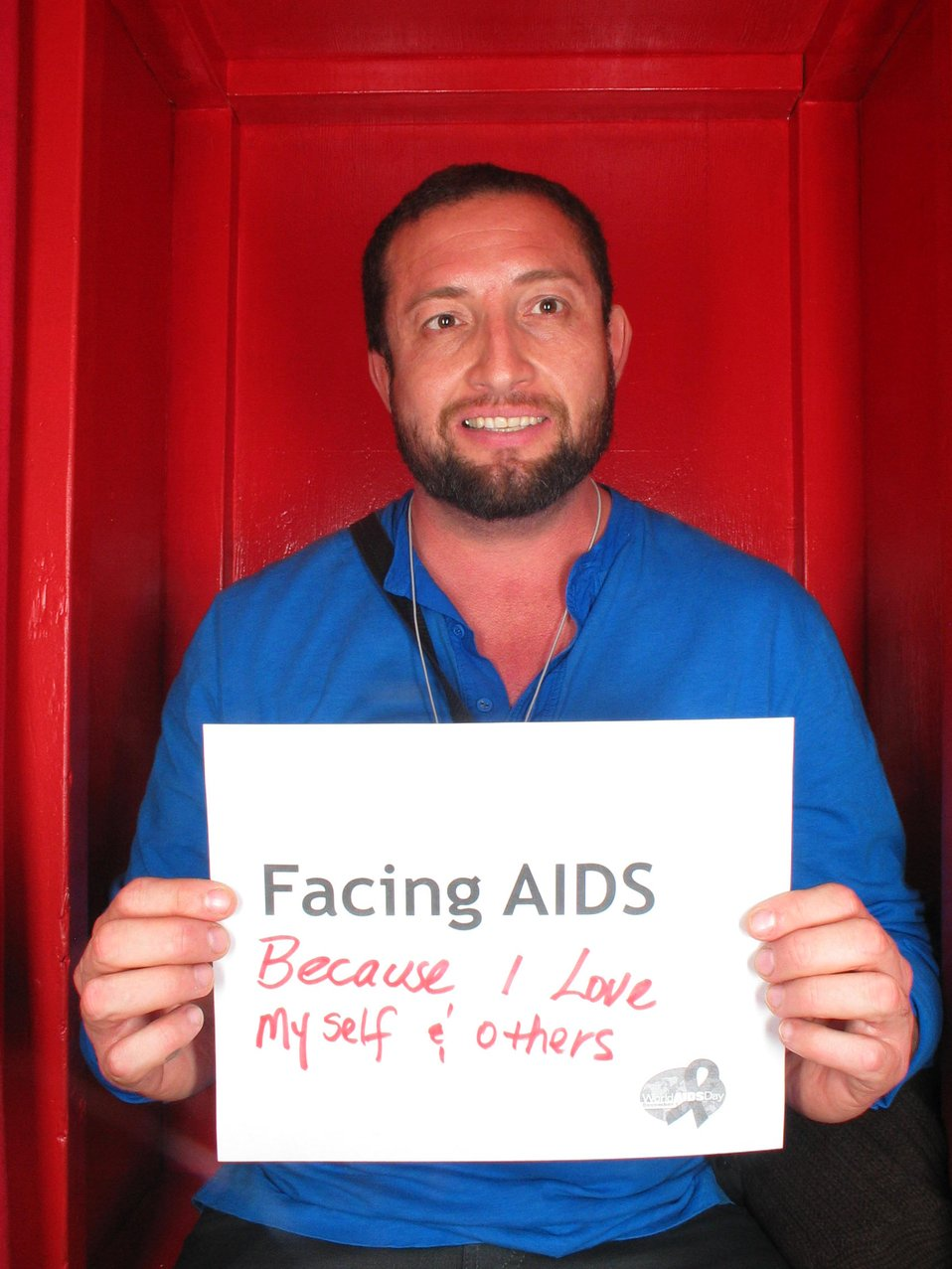Facing AIDS because I love myself and others