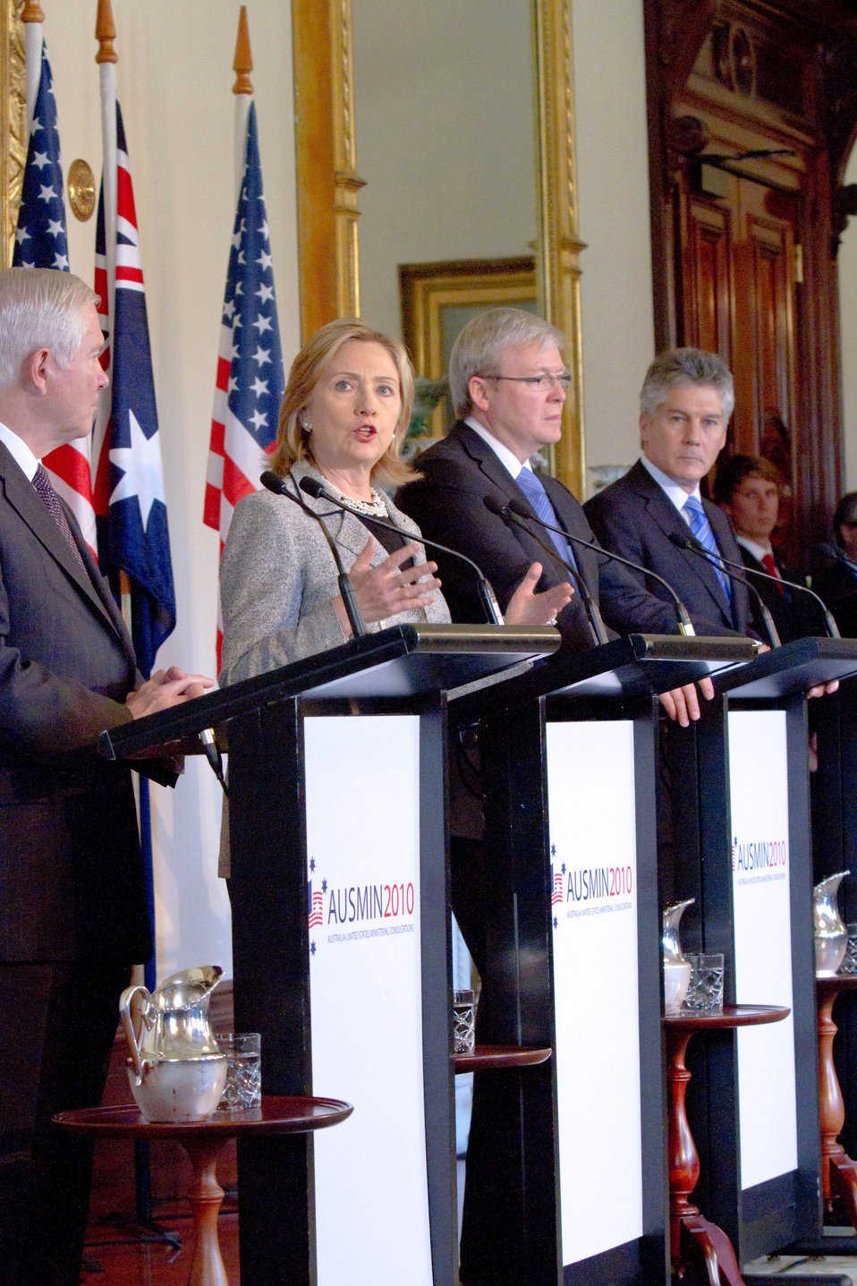 Secretary Clinton Speaks at the AUSMIN Press Conference