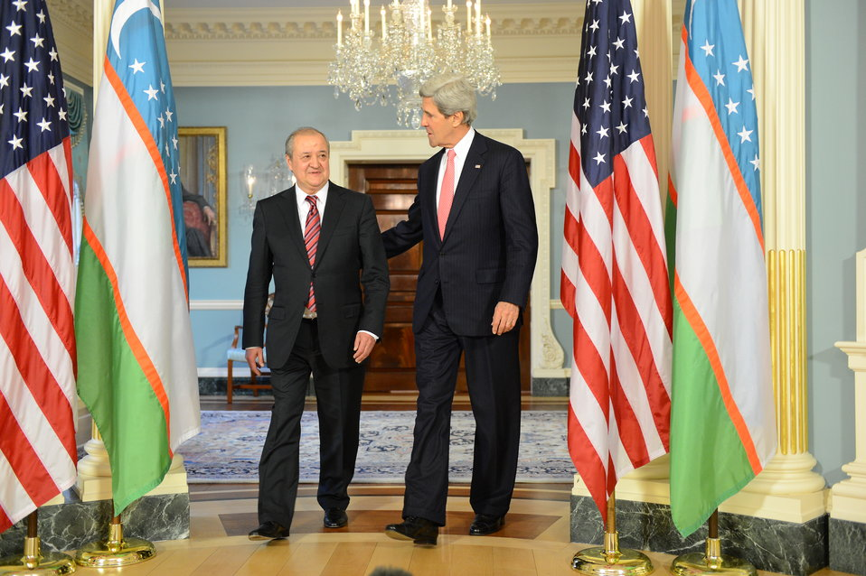 Secretary Kerry Meets With Uzbek Foreign Minister Kamilov