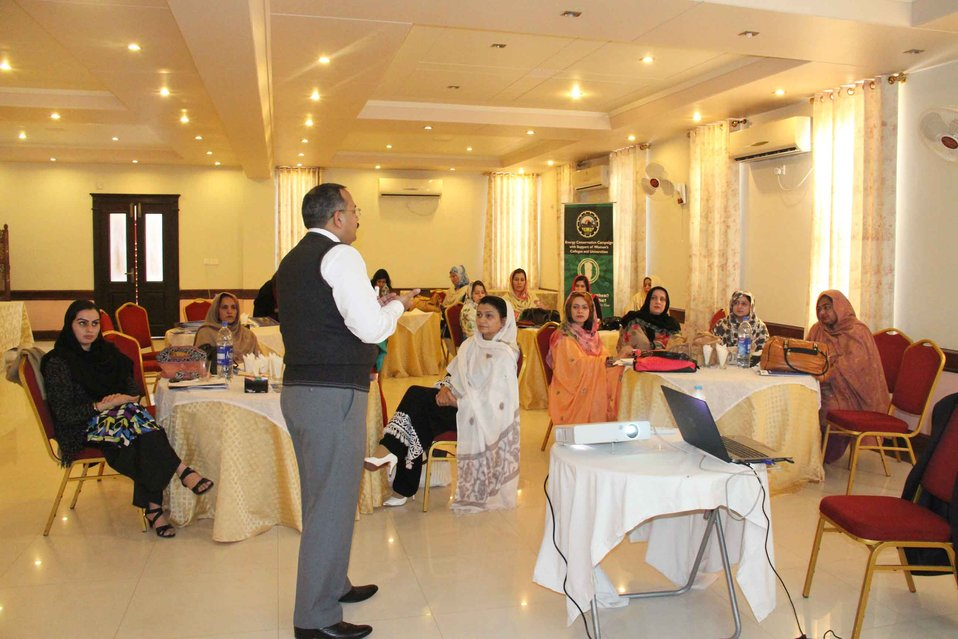 Women in Leadership Workshop for Peshawar Electric Supply Company