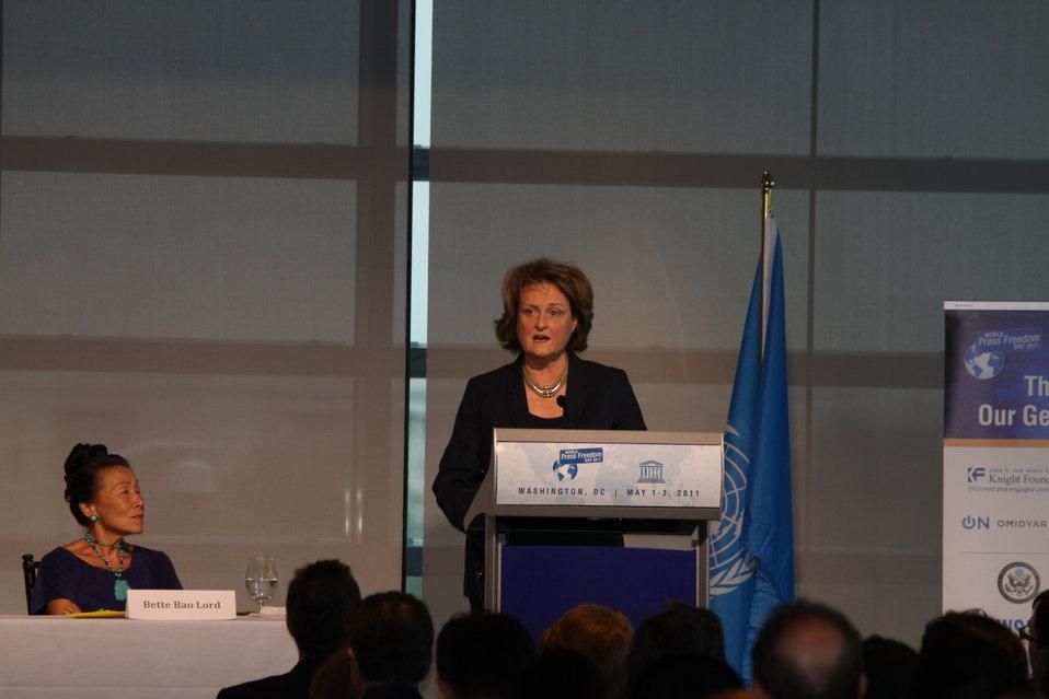 Under Secretary McHale Delivers Remarks on Press Freedom