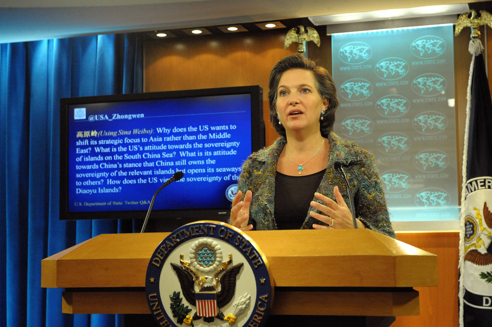 Spokesperson Nuland Responds to a Question from @USA Zhongwen