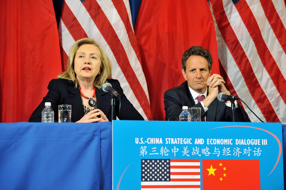 Secretaries Clinton and Geithner Deliver Closing Remarks