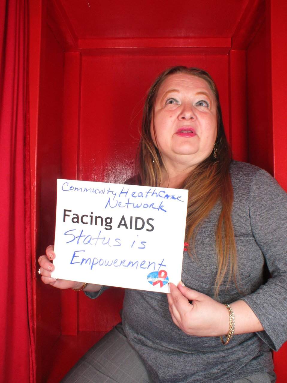 Facing AIDS Status is empowerment