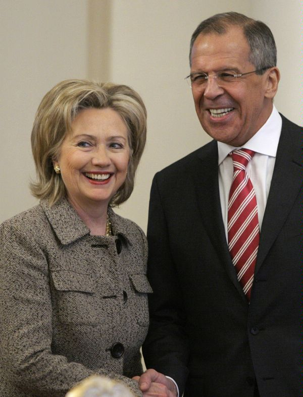 Secretary Clinton With Russian Foreign Minister Sergey Lavrov