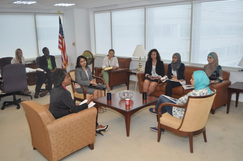 TECH GIRLS with Chairwoman Clyburn 7-11-2013