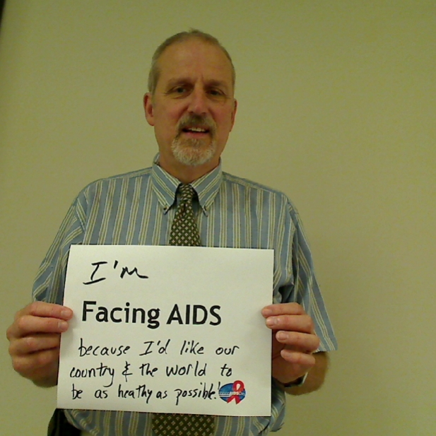 I'm Facing AIDS because I'd like our country and the world to be as healthy as possible!