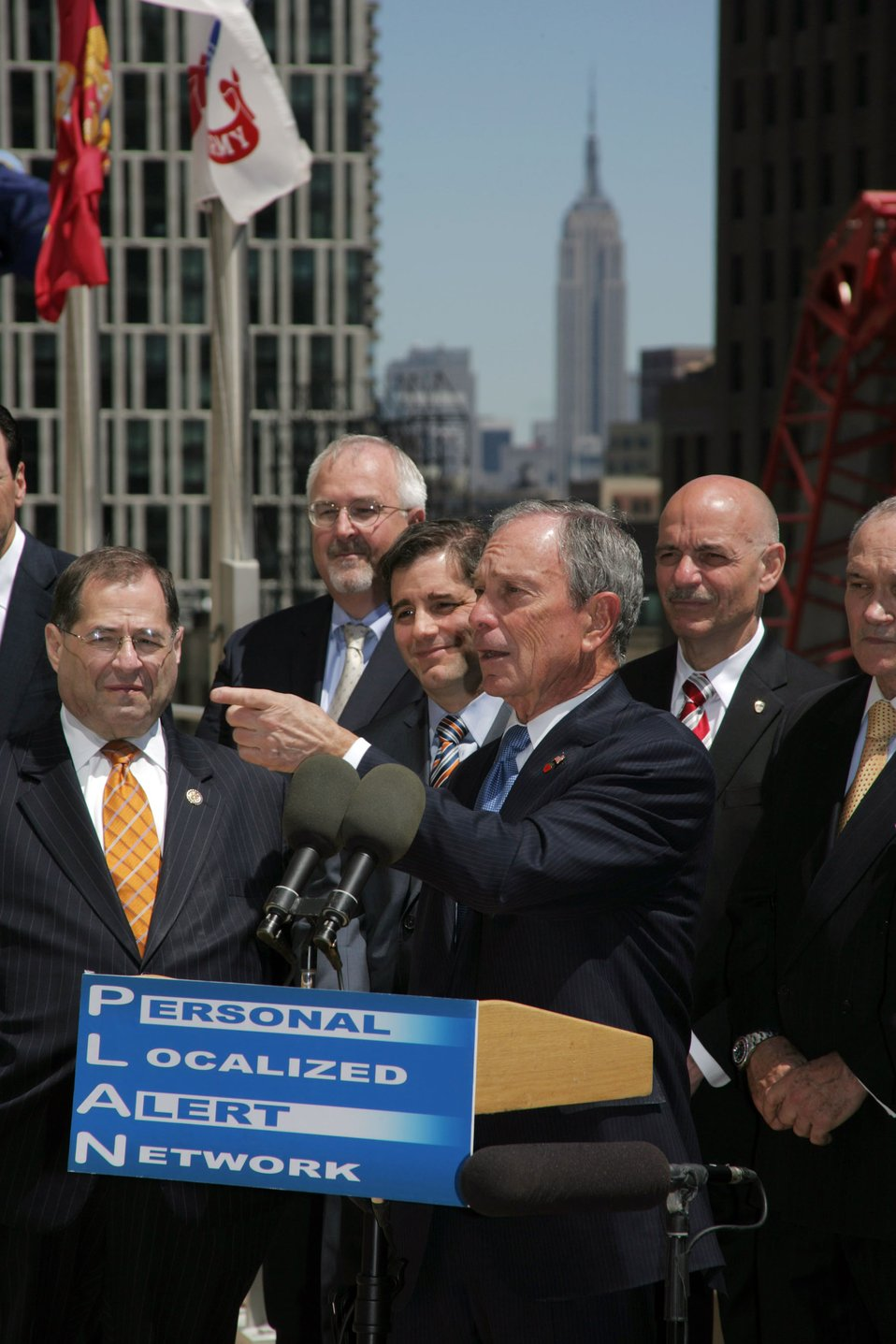 Mayor Bloomberg PLAN launch event