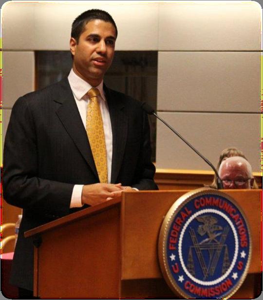 Commissioner Aji Pai, FCC
