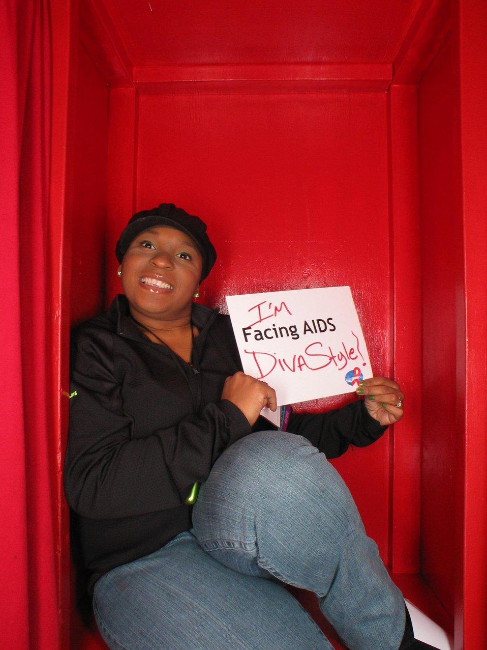 I'm Facing AIDS Diva Style!
