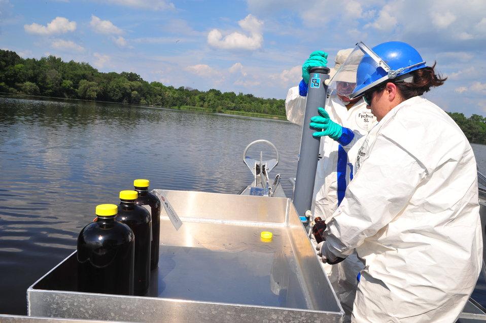 EPA sampling operations