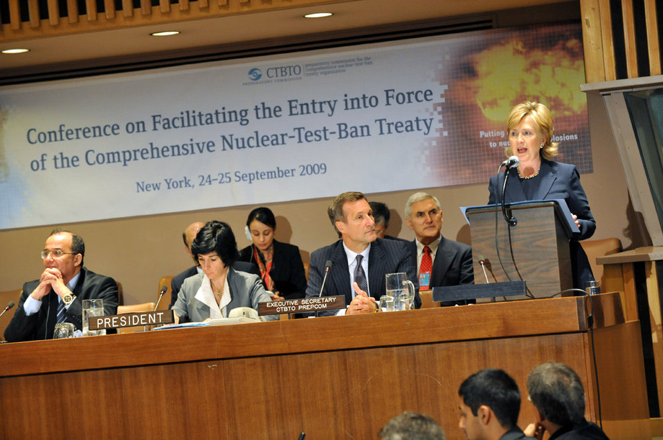 UNGA 2009: Comprehensive Nuclear-Test-Ban Treaty Conference
