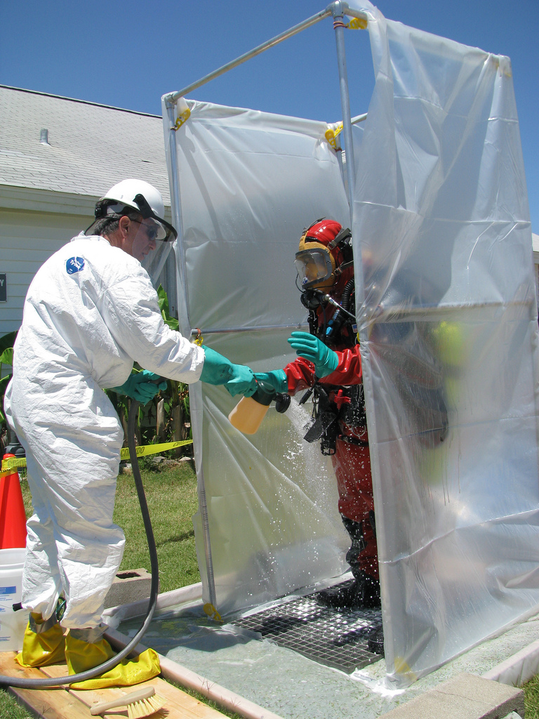 Teaching the importance of decontamination