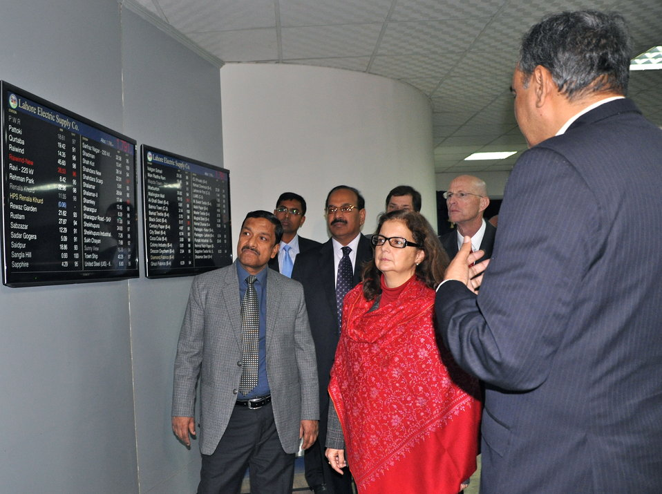 Inauguration of the Power Distribution Control Center at LESCO