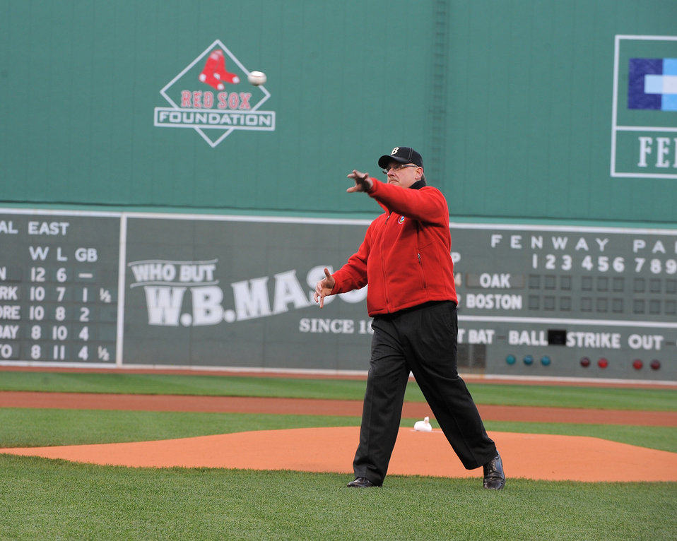 EPA New England Regional Administrator Pitches for Recycling at Fenway Park