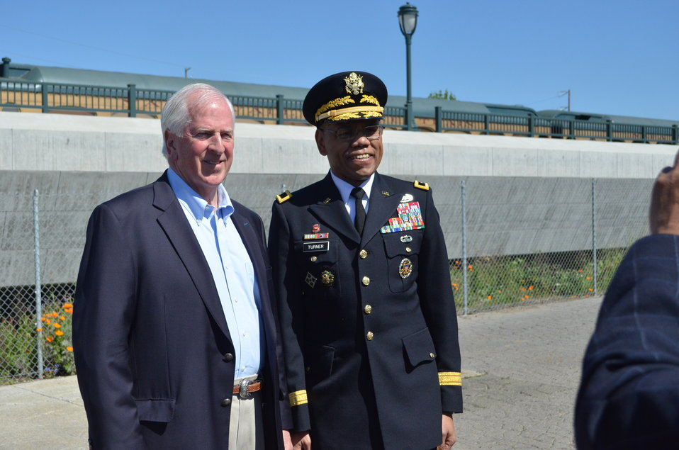 Corps joins Rep. Mike Thompson, Napa officials to break ground on new dry bypass