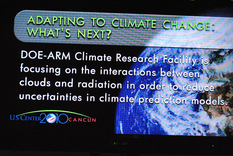 U.S. Scientists Present 'Climate Change Research Program in the United States'