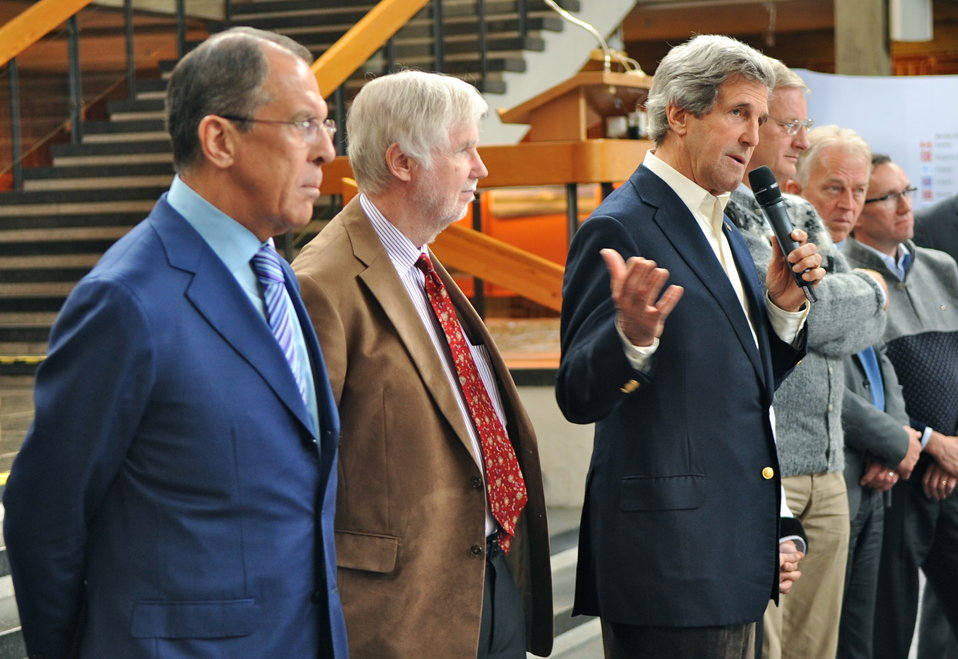 Secretary Kerry Attends Closing Session of the Arctic Council Meeting