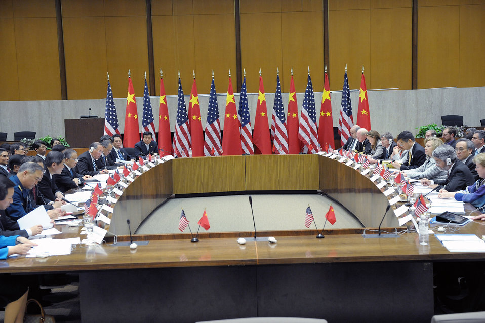Secretary Clinton Leads the U.S.-China SandED Strategic Track Plenary Session I